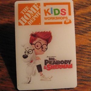 Home Depot Kids Mr. Peabody & Sherman Lapel Pin